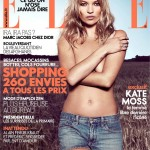 Kate Moss Covers <em>Elle France</em> September 2011