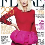 Kirsten Dunst Covers <em>Flare</em> November 2011 in Giambattista Valli
