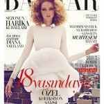 <em>Harper's Bazaar Turkey</em> October 2011 Cover | Lily Cole by Koray Birand