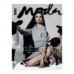 <em>Viva! Moda</em> Fall 2011 Cover | Magdalena Frackowiak, Tasha Tilberg &#038; Elise Crombez by Michel Comte