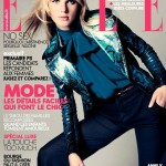 <i>Elle France</i> September 2011 Cover | Anne Vyalitsyna by Nagi Sakai