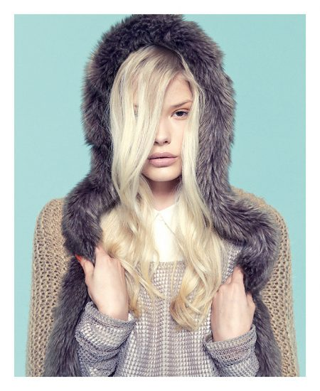 Alena Blohm by Sergi Jasanada for Bershka October 2011 Lookbook