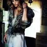 Edita Vilkeviciute by Peter Lindbergh for <i>Vogue China</i> November 2011