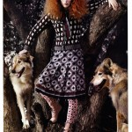 Karen Elson by Mark Segal for <i>Vogue China</i> November 2011