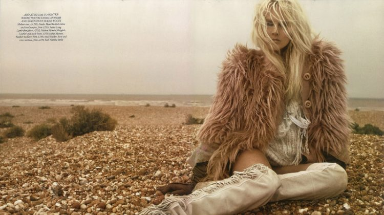 Lisanne de Jong by Miguel Reveriego for Harper's Bazaar UK November 2011