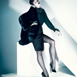Tara Gill by Chris Nicholls for <i>Elle China</i> November 2011