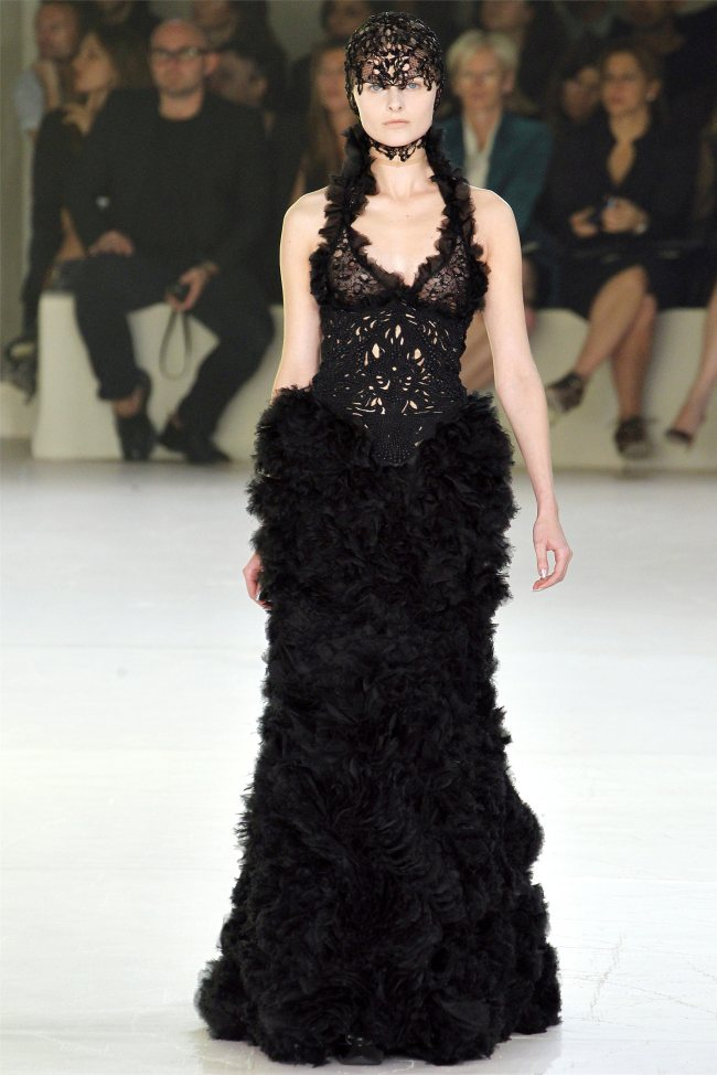 Alexander McQueen Spring 2012 | Paris Fashion Week