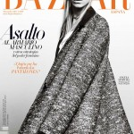 Angela Lindvall Covers <em>Harper's Bazaar Spain</em> November 2011 in Balenciaga