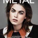 Bambi Northwood-Blyth Covers <em>Metal</em> #25 in Miu Miu