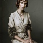 Chloe Memisevic in Donna Karan by Yasunari Kikuma for <em>Numéro Tokyo</em> November 2011
