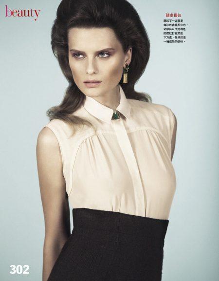 Elena Melnik by Yossi Michaeli for Vogue Taiwan