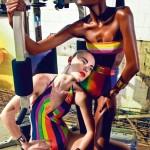 Carmelita Mendes &#038; Barbara di Creddo by Manuel Nogueira for <em>Elle Brazil</em> November 2011