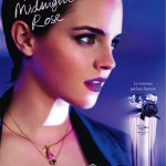 "Emma Watson for Lancôme ""Trésor Midnight Rose"" Fragrance by Mario Testino"