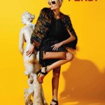 Natasha Poly for Fendi Resort 2012 Campaign by Karl Lagerfeld