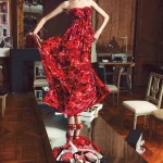"Sasha Pivovarova, Joan Smalls & Hanaa Ben Abdesslem for Giambattista Valli for Macy's ""Impulse"" Campaign"