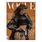 <em>Vogue Turkey</em> November 2011 Cover | Isabeli Fontana by Sebastian Faena