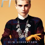 <em>Playing Fashion</em> November 2011 Cover | Jana Knauerova by Jason Kim