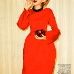 Lindsey Wixson by Terry Richardson for <em>Harper's Bazaar US</em> October 2011