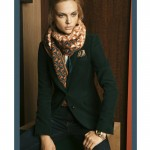 Viktoriya Sasonkina for Massimo Dutti October 2011 Lookbook