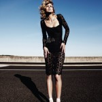 Michelle Buswell in Dolce &#038; Gabbana by Simon Lekias for <em>Harper&#8217;s Bazaar Singapore</em> November 2011