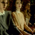Rose Smith, Tali Lennox & Caterina Ravaglia by Deborah Turbeville for <em>Grey</em> #5