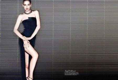 Samantha Gradoville by Nico for Harper's Bazaar Spain