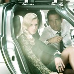 Toni Garrn & Clive Owen by Alexi Lubomirski for <em>Vogue Spain</em>