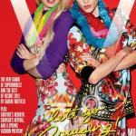 <em>V Magazine</em> #74 Covers |  Candice Swanepoel, Joan Smalls, Daphne Groeneveld, Saskia de Brauw, Sui He, Hanaa Ben Abdesslem, Bambi Northwood-Blyth &#038; Lindsey Wixson by Terry Richardson