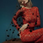 Abbey Lee Kershaw by Richard Bush for <em>Vogue Russia</em>