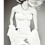 Aline Weber by Txema Yeste for <em>Harper's Bazaar Spain</em> December 2011