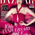 <em>Harper's Bazaar Singapore</em> November 2011 Cover | Sheila Sim by Gan