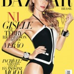 Gisele Bundchen by Terry Richardson for <em>Harper's Bazaar Brazil</em> November 2011 (Cover)