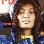 Joan Smalls & Benjamin Eidem Cover <em>i-D</em> Winter 2011
