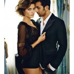 Isabeli Fontana & Ranbir Kapoor by Marc Hom for <em>Vogue India</em>