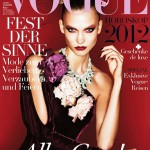 Karlie Kloss Covers <em>Vogue Germany</em> December 2011 in Ralph Lauren