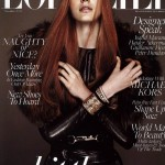<em>L&#8217;Officiel Singapore</em> November 2011 Cover | Anniek Kortleve by Wee Khim