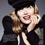 Malgosia Bela by Richard Burbridge for <em>Grazia France</em>