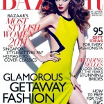 <em>Harper&#8217;s Bazaar Singapore</em> December 2011 Cover | Masha Tyelna by Gan