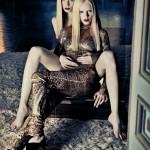 Ginta Lapina &#038; Andrej Pejic by Sebastian Kim for <em>Numéro</em> #128