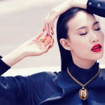 Shu Pei in Fendi for <em>Harper&#8217;s Bazaar Singapore</em> by Gan