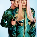 Henrietta Hellberg by Tobias Lundkvist in Versace for H&M for <em>Rodeo</em>