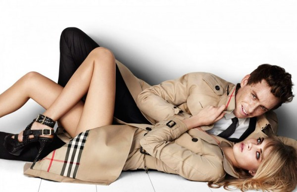 Cara Delevingne for Burberry Spring 2012 Campaign by Mario Testino