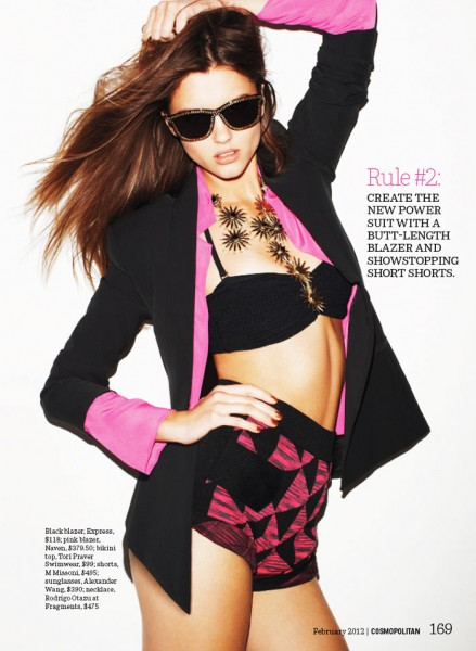Anett Griffel by Francisco Garcia for <em>Cosmopolitan US</em> February 2012