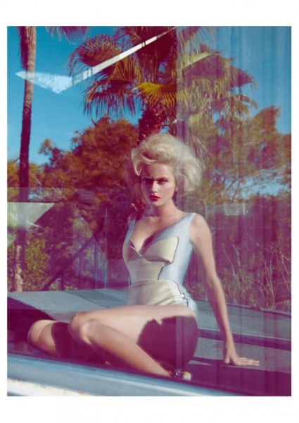 Annabella Barber by Jamie Nelson for Madame Germany February 2012