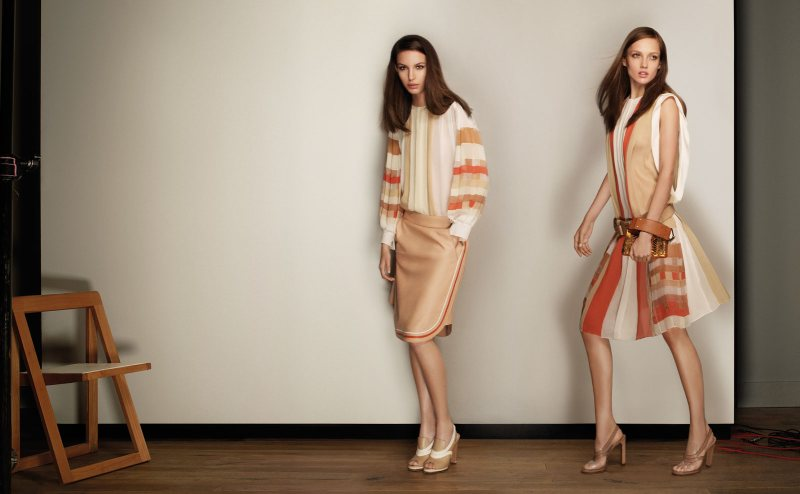 Karmen Pedaru & Kate King for Chloe Spring 2012 Campaign by Glen Luchford