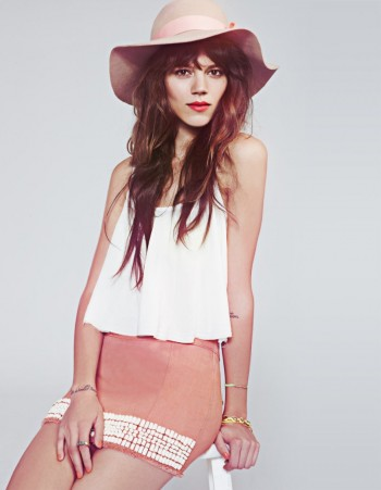 Freja Beha Erichsen for Free People February 2012 Catalogue