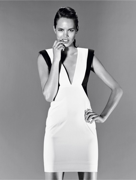 Freja Beha Erichsen for Hugo by Hugo Boss Spring 2012 Campaign by Alexei Hay