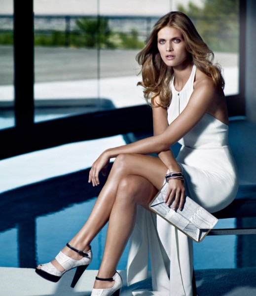 Malgosia Bela for Hugo Boss Black Spring 2012 Campaign by Mario Sorrenti