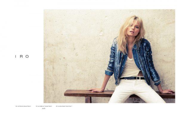 Magdalena Frackowiak for Iro Spring 2012 Campaign by Knoepfel & Indlekofer