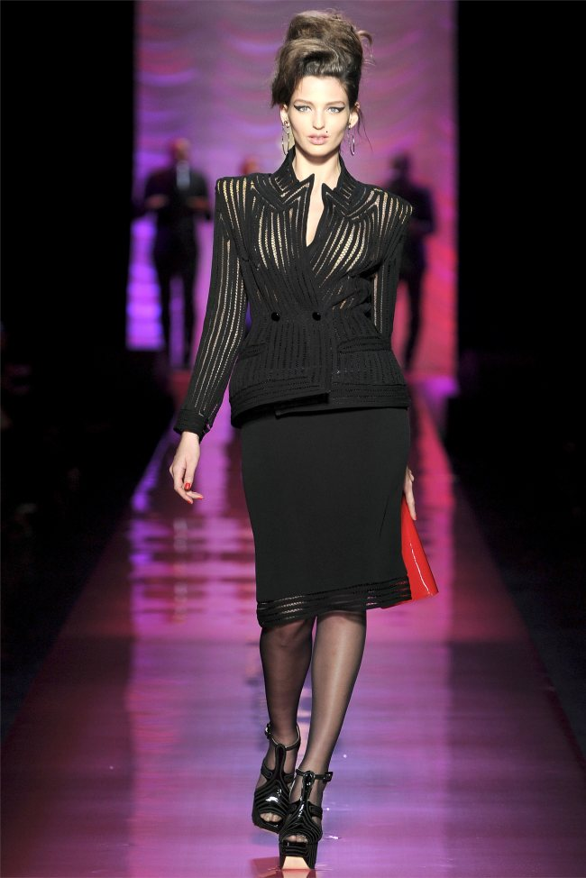 jean paul gaultier spring 2012 couture paris haute couture. Black Bedroom Furniture Sets. Home Design Ideas